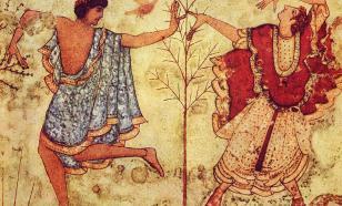 На фреске этрусков обнаружили скрытое изображение подземного мира