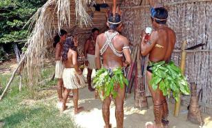 Место, где индейцы примиряются с католиками