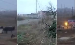 Опубликовано видео уничтожения террористов в Астрахани