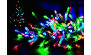 Светодиодные гирлянды могут вызвать приступ эпилепсии