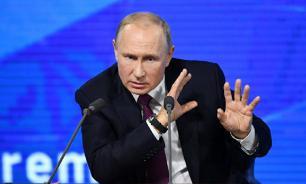 """""""Ахинея"""": Путин о политических передачах на телевидении"""