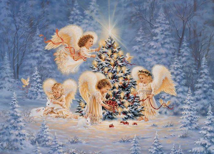 История рождественской ели: от египтян до Германии