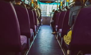 Пьяный приморец угнал автобус и протаранил полицейские автомобили