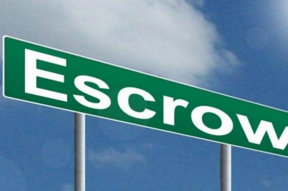 Одобрена первая сделка по эксроу-счетам