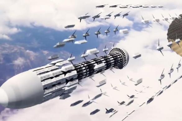 В США показали войны будущего. Видео