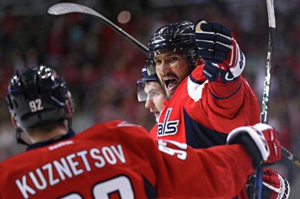 Овечкин сделал дубль и вышел на 36-е место среди бомбардиров НХЛ