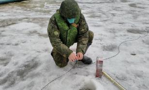 Военные против паводка: в Татарстане саперы взрывают лед на реках