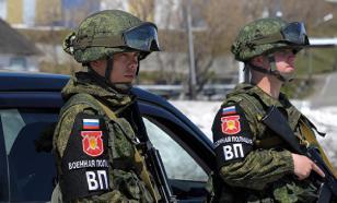В Карабахе начала патрулирование российская военная полиция