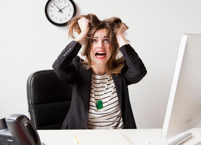 Стресс разрушает кости