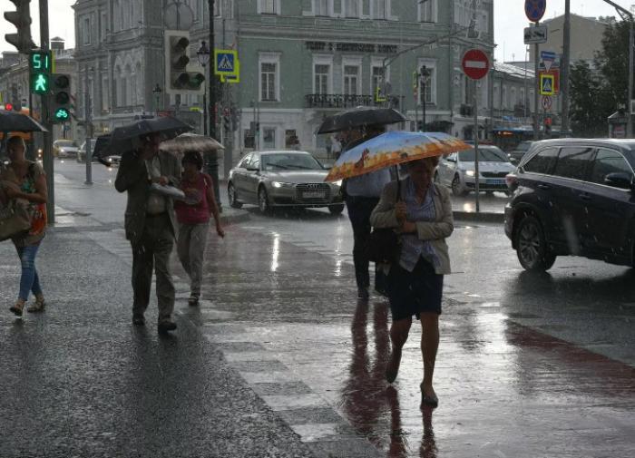 Москву ждут дожди и колебания температуры