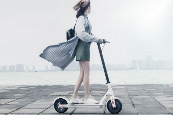 В Китае изобрели самокат, способный возвращаться к зарядной станции