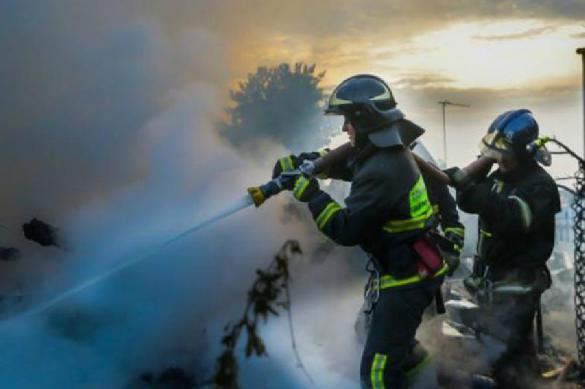 При пожаре на ферме в Башкирии погибло более двухсот животных