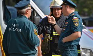 В Москве эвакуировали жилой дом из-за возгорания газовой трубы