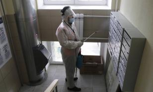 В Москве продлили ежедневную дезинфекцию подъездов