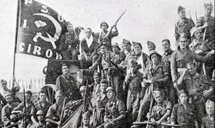 Дух Гражданской войны над Испанией
