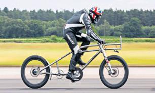 Британец разогнался на велосипеде до 280 км/ч и побил мировой рекорд