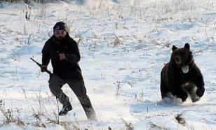 Рыбак утонул, спасаясь от медведя. Свидетели не смогли помочь