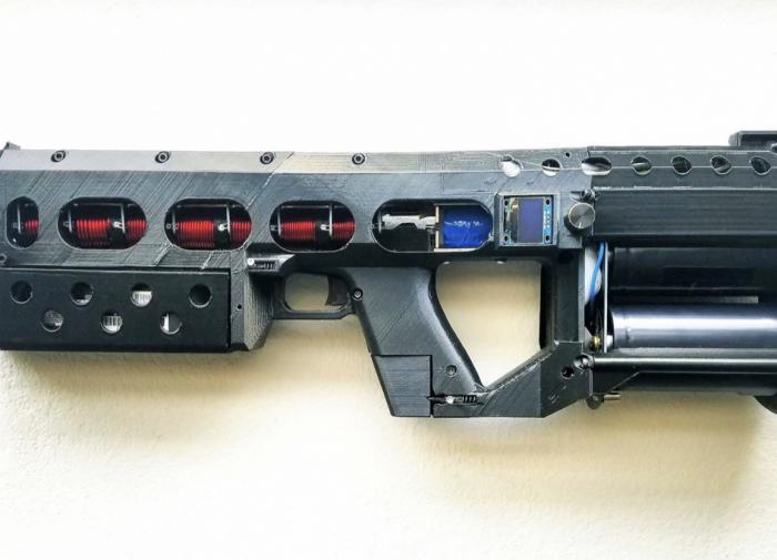 Электромагнитная винтовка Гаусса: электричество, которое... стреляет