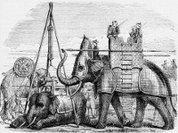 Железные доспехи для боевого слона