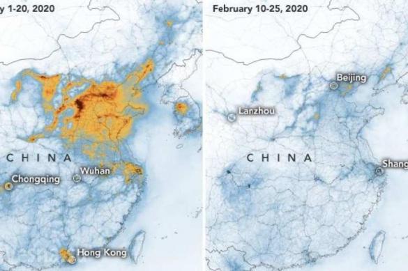 Коронавирус пошел на пользу экологии Китая