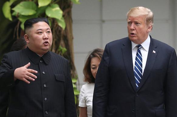 Трамп рассказал о содержании письма от Ким Чен Ына