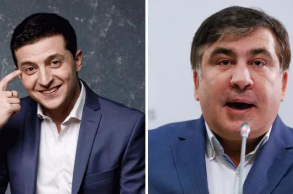 На Украине: Зеленский поддержал Саакашвили и борется с Эрмитажем
