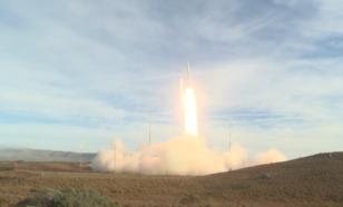 Воздушно-космические силы провели пуск новой ракеты системы ПРО