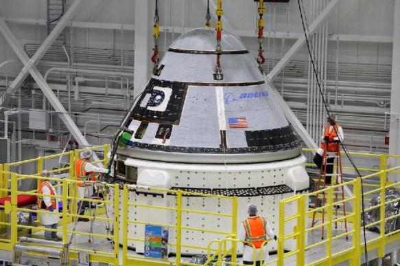 Космический корабль Boeing готовится к запуску