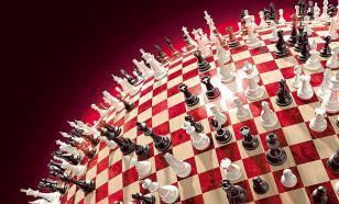 """Голубь на """"великой шахматной доске"""""""
