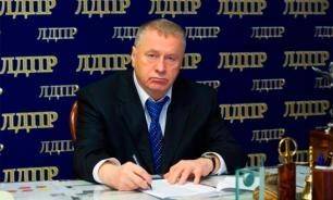 Жириновский призвал россиян не участвовать в уличных беспорядках