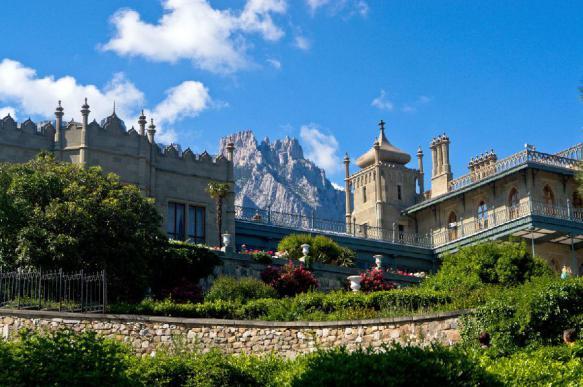 Воронцовский дворец в Крыму отреставрируют за почти 400 млн рублей