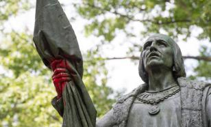 Памятник Христофору Колумбу снесли в Нью-Джерси