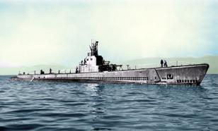 Водолазы сняли уникальное видео американской субмарины у острова Матуа