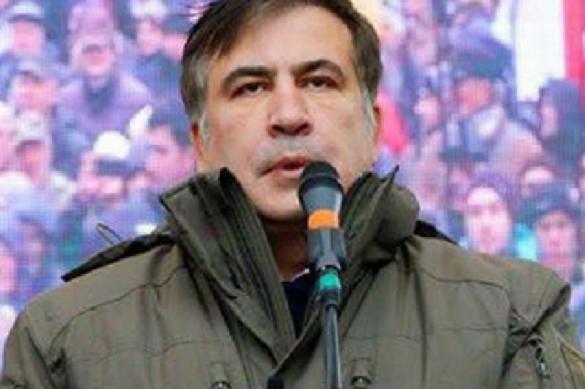 Саакашвили второй раз встретился в тюрьме с девушкой, но так и не увидел жену