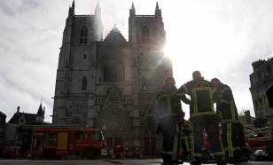 Задержан подозреваемый в поджоге древнего собора в Нанте