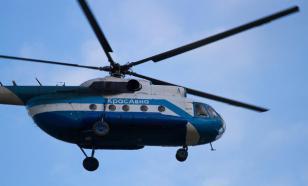 В Коми неизвестные обстреляли вертолет Ми-8
