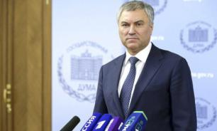 Володин поддержал позицию лидера ЛДПР о равных возможностях для фракций