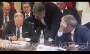 Путин набросал на листке план и объяснил свою задумку премьеру Армении