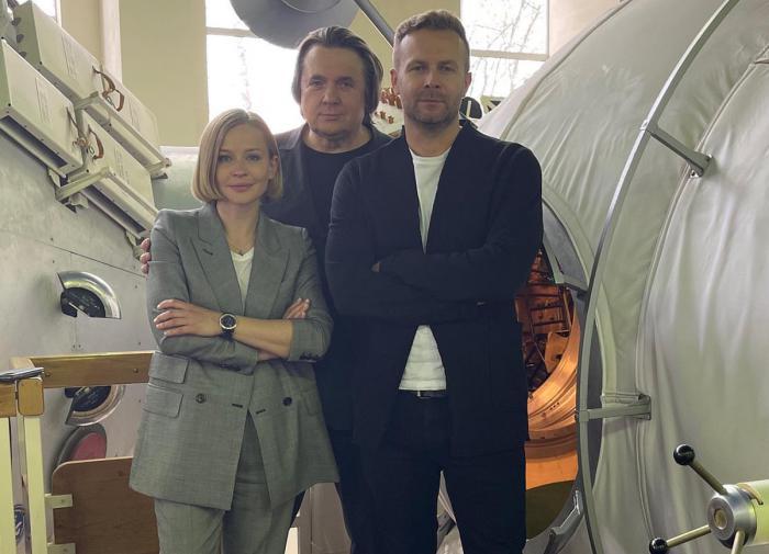 """""""Киношники"""" Шипенко и Пересильд сдали первые экзамены перед полётом в космос"""