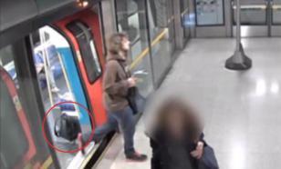 Опубликовано видео: студент закладывает бомбу для подрыва в Лондоне