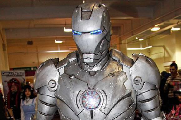 Американцы создали гигантского робота для дуэли машин