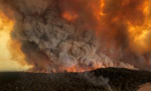 В Австралии потеряна связь с самолетом, тушившим пожары