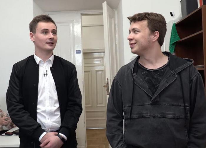 Протасевич расскажет о своих спонсорах в России
