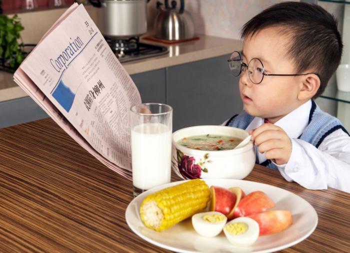 Интеллект ребенка зависит от того, что он ест