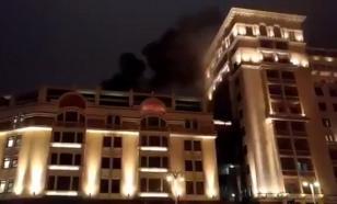 """В гостинице """"Москва"""" вечером произошло возгорание"""