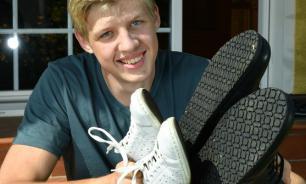 Житель Германии с 57-м размером ноги попал в Книгу рекордов Гиннесса