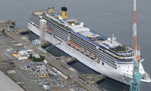 На круизном лайнере в порту Японии выявлены 33 зараженных коронавирусом