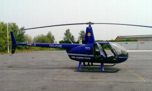 Вертолёт перевернулся после учебного полёта в Новгородской области