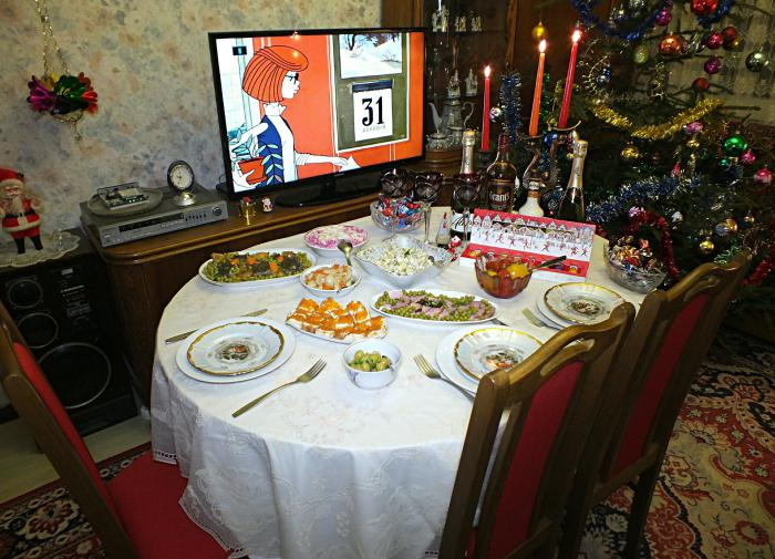 Росстат подсчитал расходы россиян на новогодний стол
