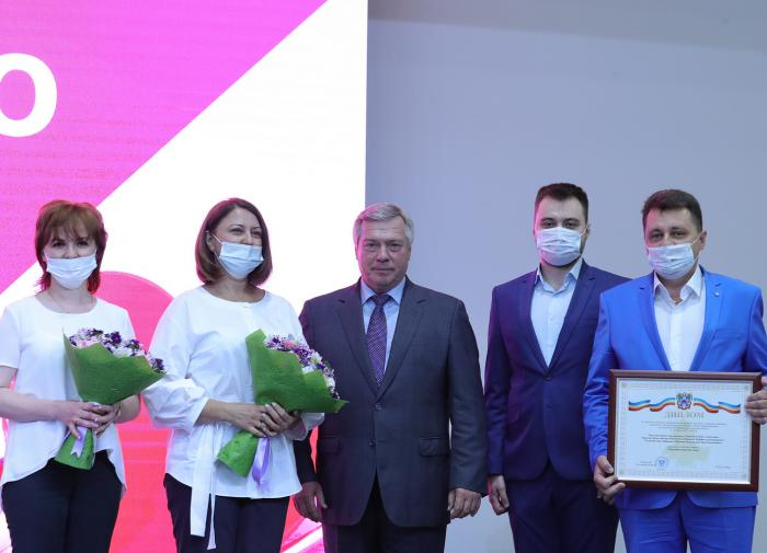 Губернатор Ростовской области поздравил медиков с праздником